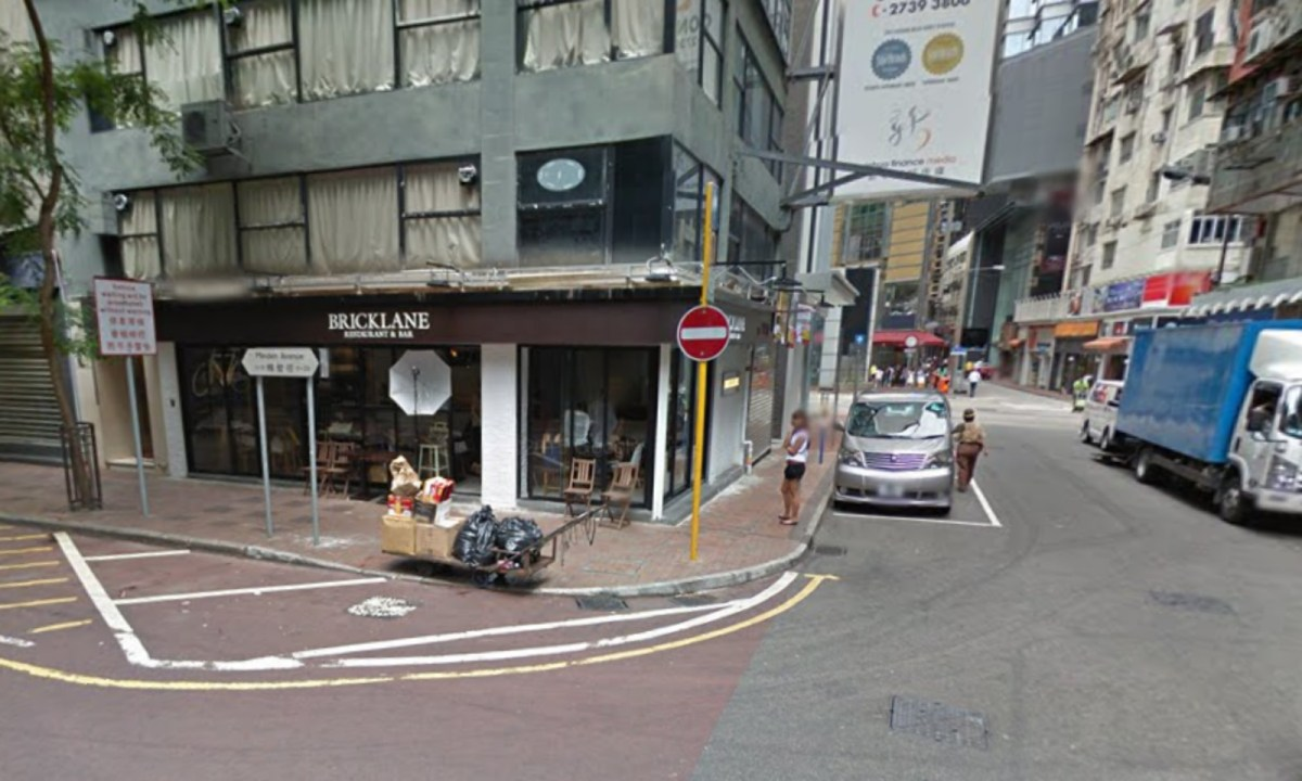 Blenheim Avenue in Tsim Sha Tsui is home to many late night bars. Photo: Google Map