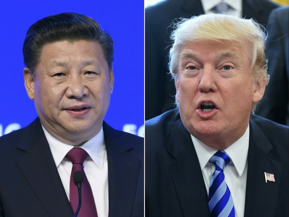 Presidents Xi Jinping of China and Donald Trump of the US will meet next week at Trump's Florida compound to discuss relations between the two economic superpowers. Photos: AFP/Fabrice Coffrini and Mandel Ngan