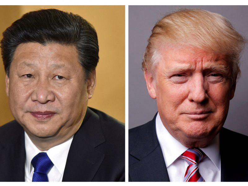 Chinese President Xi Jinping (left) and US President Donald Trump. Photos: Reuters