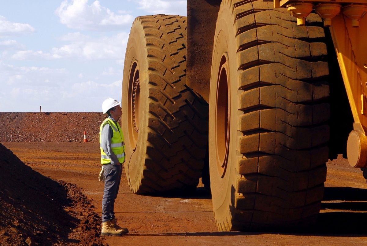 Where's there's dirt there's brass, as the saying goes. Australia was the biggest beneficiary of China's soaring iron ore demand. Photo: Reuters
