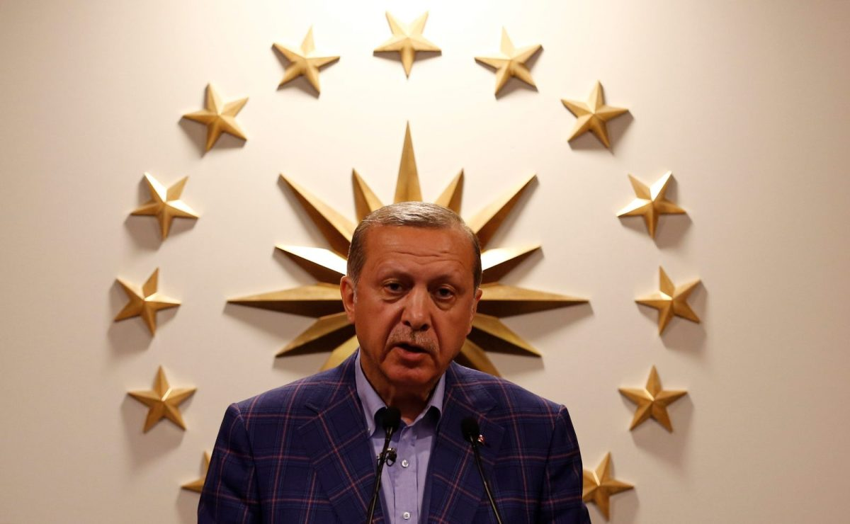 US forces could be caught in the crossfire if Turkish President Recep Erdoğan makes good on his vow to attack Kurdish forces in Manbij. Photo: Reuters