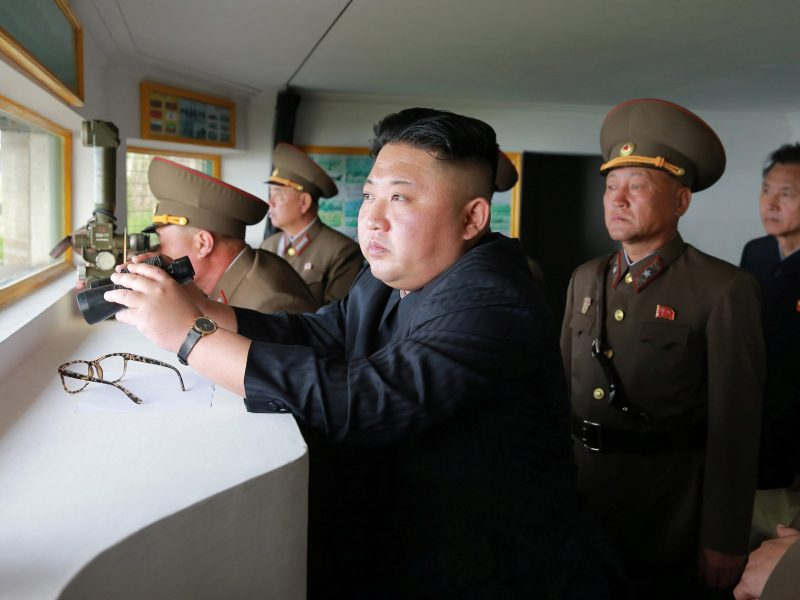 North Korean leader Kim Jong Un. Photo: KCNA via Reuters