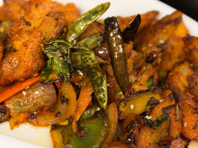 Indian chili chicken. Photo: Asia Times