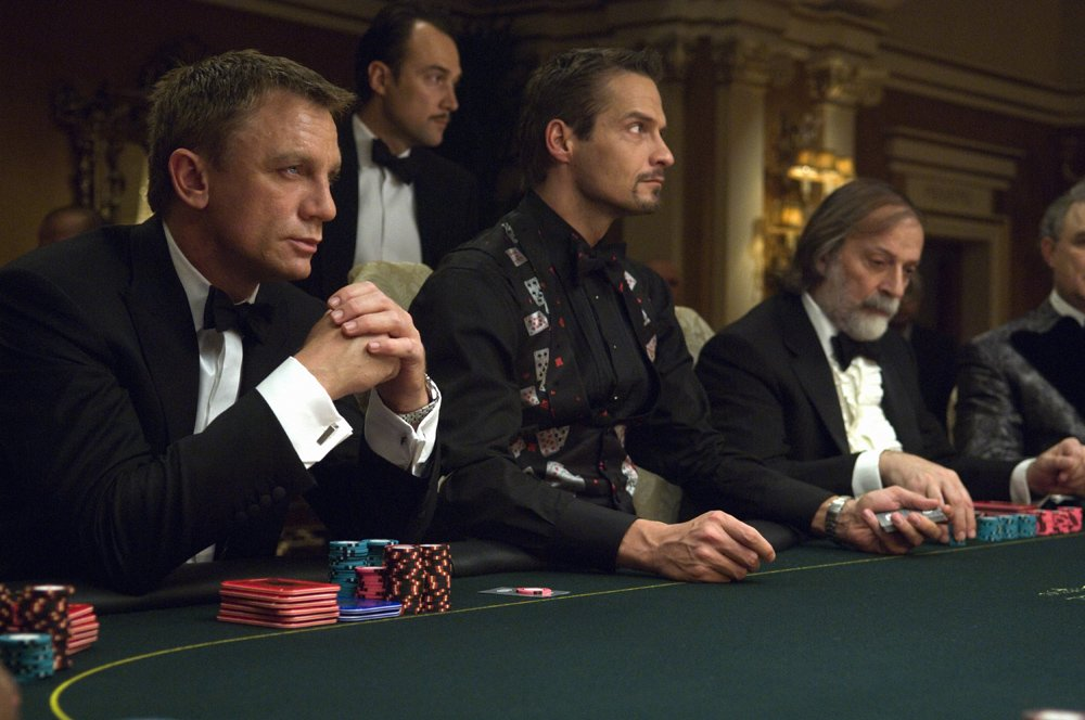 Daniel Craig as James Bond in the movie Casino Royale. Credit: Sony Pictures