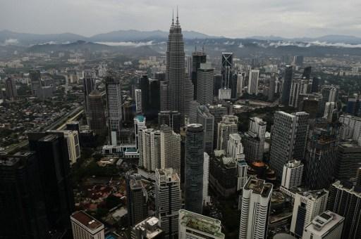 View of Kuala Lumpur. Photo: AFP