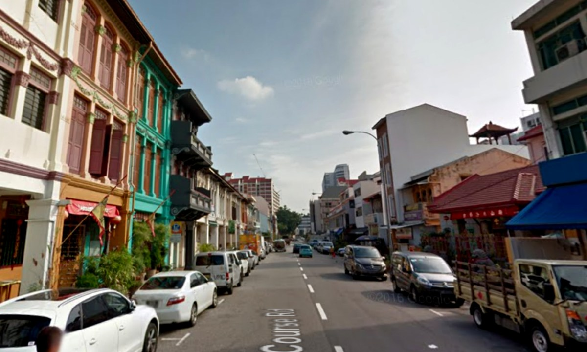 Race Course Road, Singapore. Photo: Google Maps