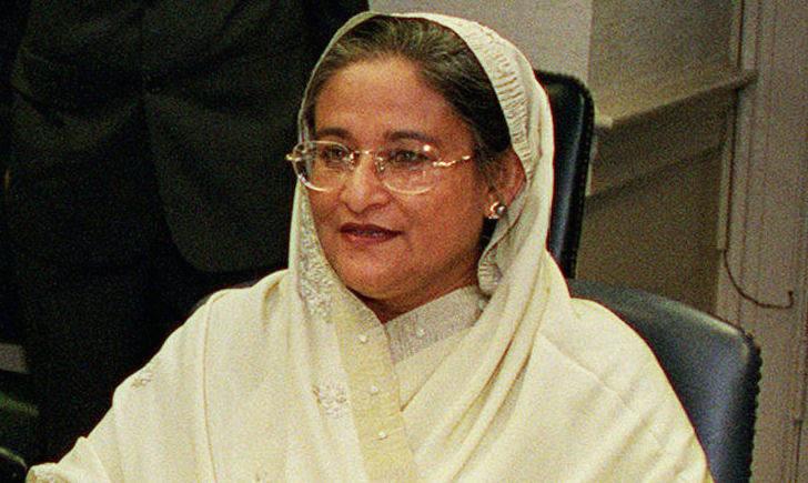Bangladeshi Prime Minister Sheikh Hasina is scheduled to visit New Delhi this week to sign a wide variety of deals with India. But the deals — about 30 in all — may not be enough to rein in China's mounting sphere of influence in Bangladesh. Photo: Wikipedia/R.D. Ward