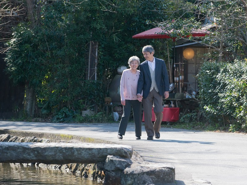 A still from Yaeko's Hum. The film is based on the true story of a devoted husband caring for his wife who suffers from early-onset Alzheimer's. Photo: Team Yaeko's Hum