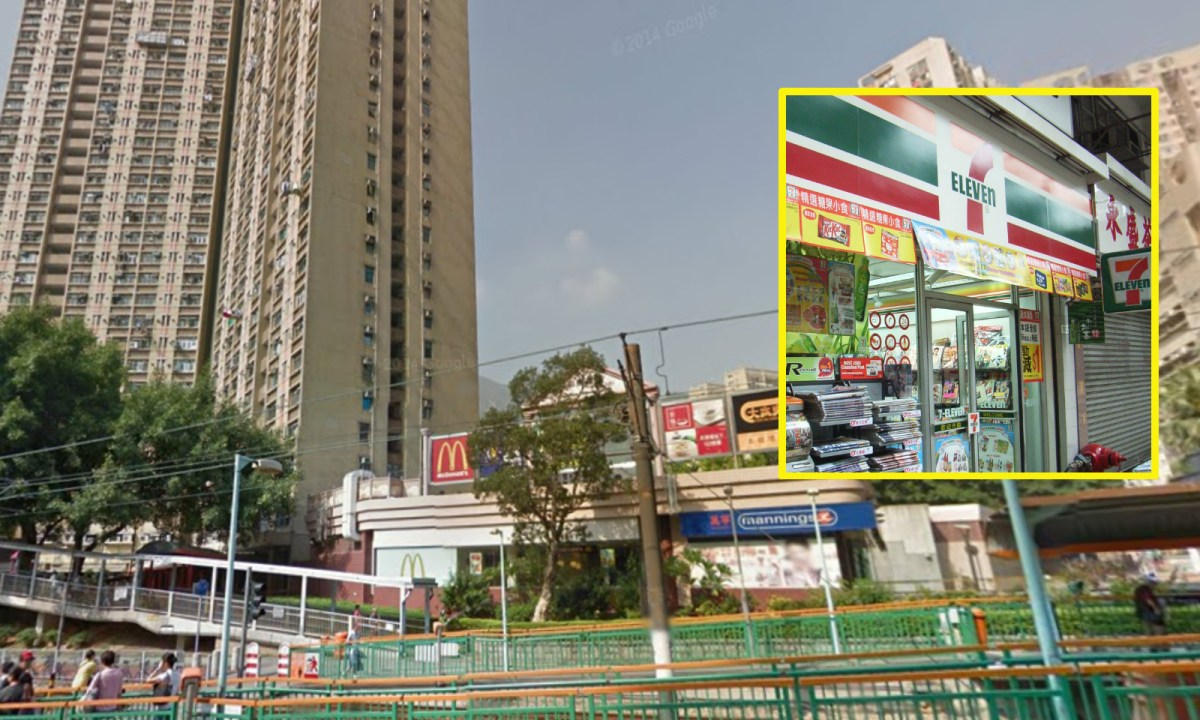 A man holding an axe robbed a convenience store in Tuen Mun. Photo: Wikimedia Commons, Google Map