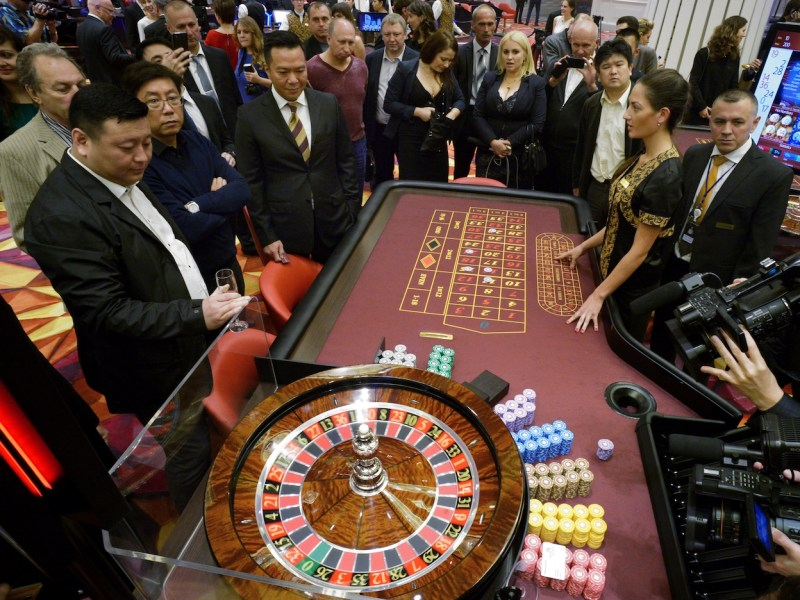 Casinos are among the lures Russia is using to promote tourism and investment into the underpopulated but resource rich Far East region. Photo: Vitaliy Ankov / RIA Novosti / Sputnik