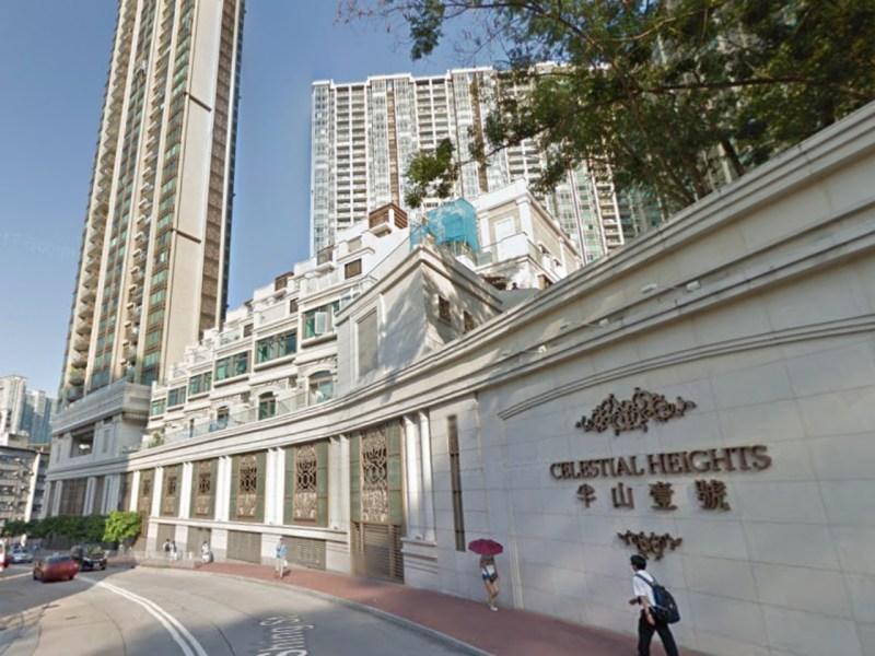 Celestial Heights, Ho Man Tin, Kowloon. Photo: Google Map