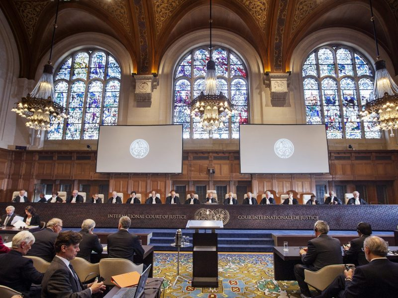 The International Court of Justice in The Hague. Photo: AFP