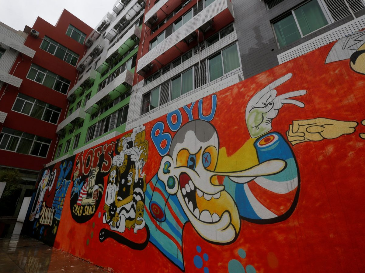 The exterior of a building with so-called youth apartments by Chinese developer China Vanke is seen in Shenzhen, China April 26, 2017.  Photo: Reuters/Bobby Yip