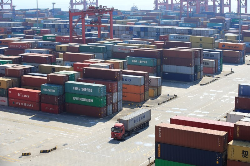 China's trade slowed, but the surplus still widened. Photo: Reuters