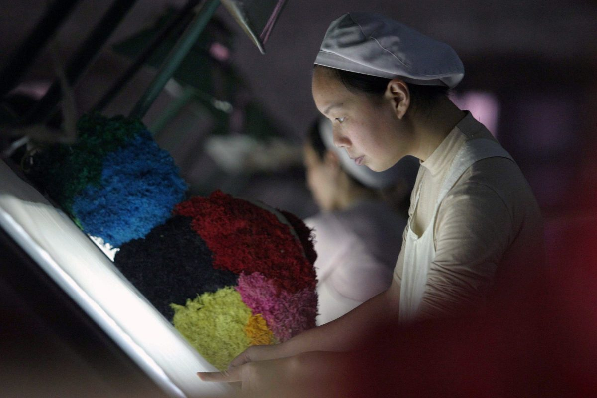 Slowly does it... more signs of steam coming out of China's economy. Photo: Reuters