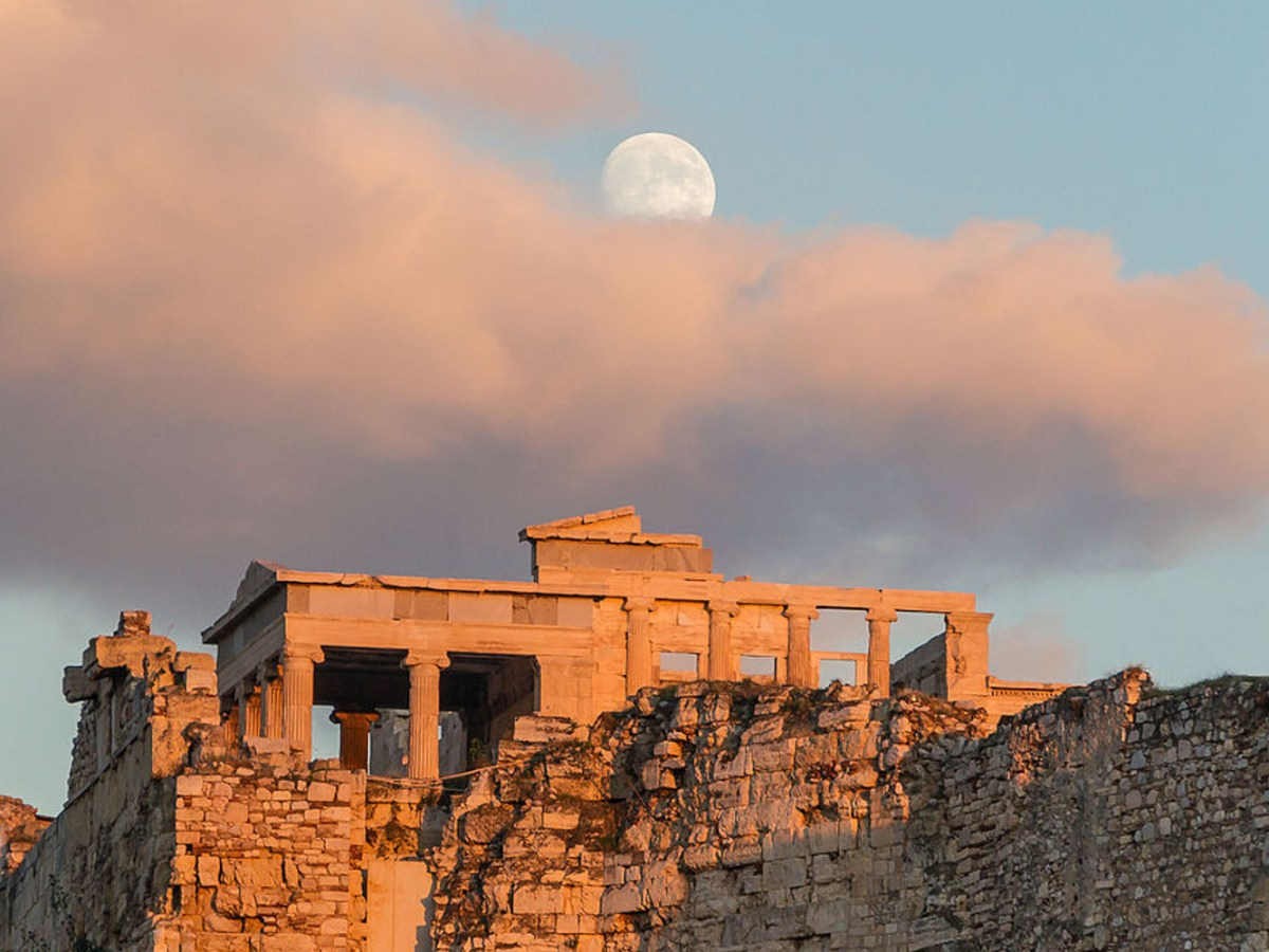 View of the Acropolis in Athens. Photo: Wikipedia Commons