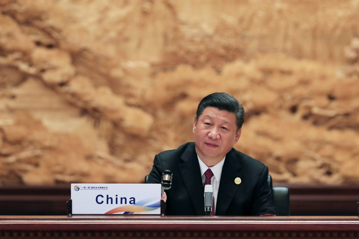 Chinese President Xi Jinping attends the Roundtable Summit Phase One Sessions of the Belt and Road Forum. Photo: Reuters, Lintao Zhang