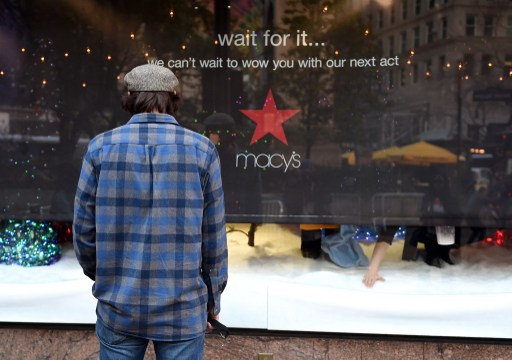 There may no longer be room for Macy's and other troubled retailers. Photo: AFP, Timothy A Clary