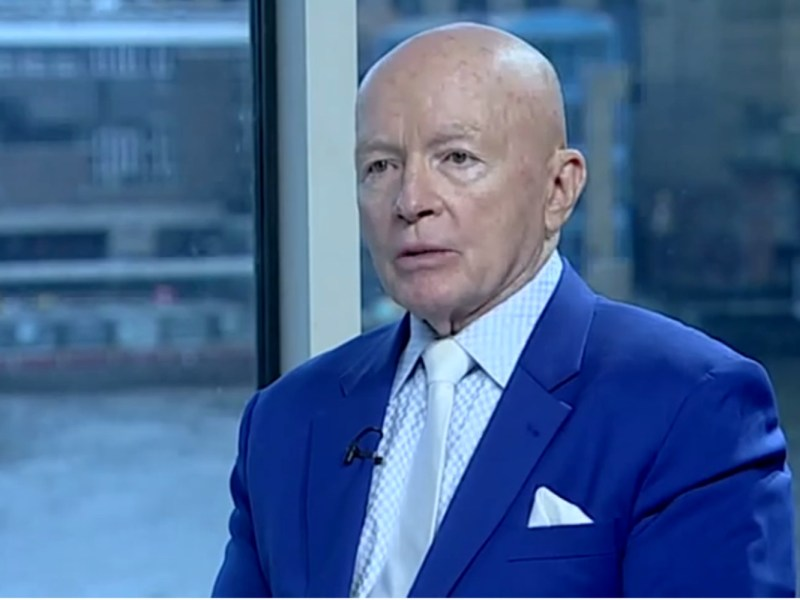 Fund manager Mark Mobius. Source: Financial Times Youtube screen grab