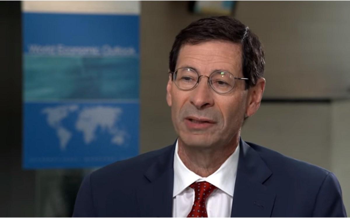IMF Chief economist Maurice Obstfeld.
