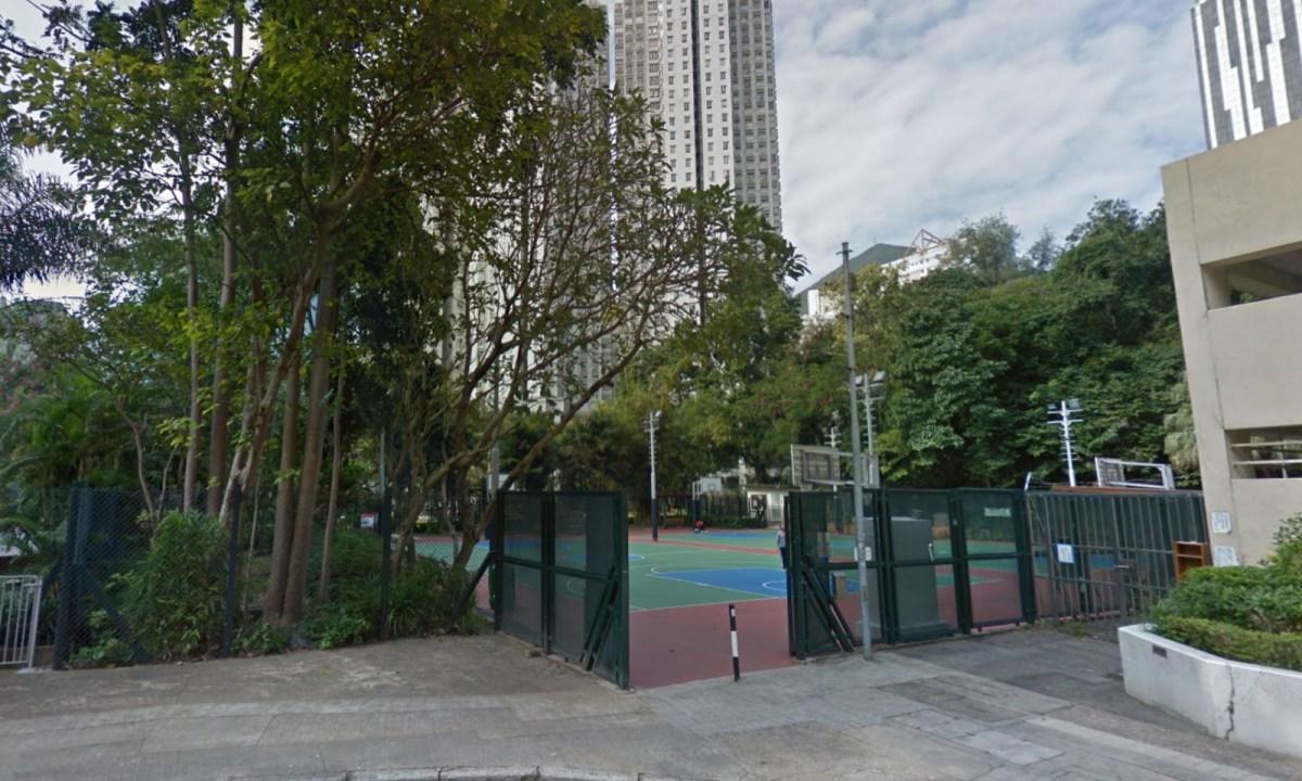 Basketball courts on Yee Tai Street, Chai Wan Photo: Google Maps