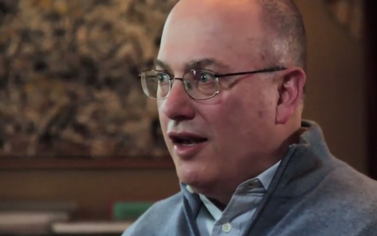 Hedge-fund manager Steven A Cohen. Source: Cohen Veterans Network Youtube screen grab