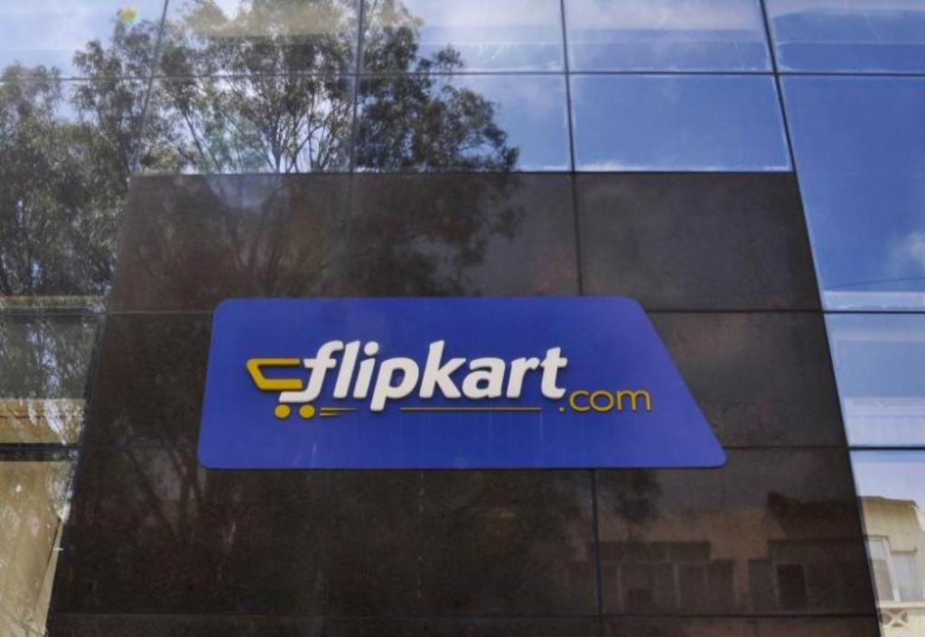 The Flipkart logo outside one of their offices. Photo: Reuters