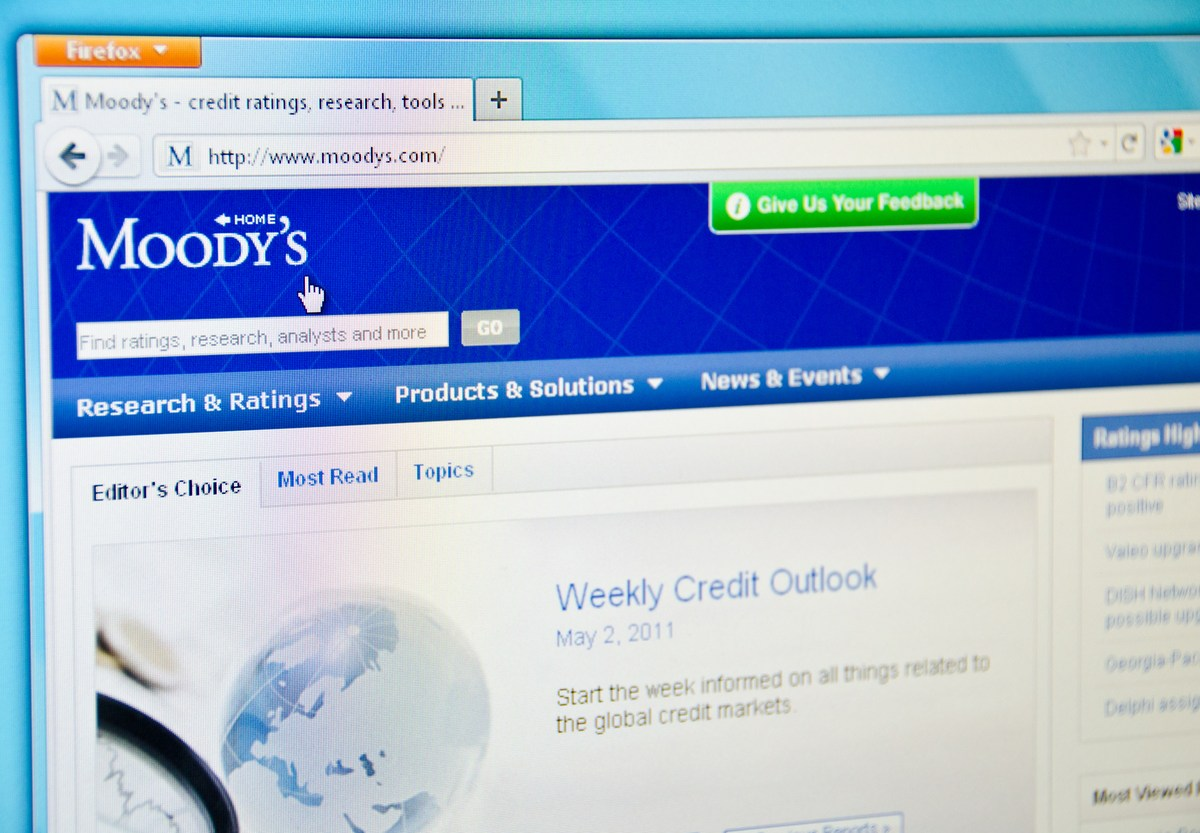 Moody's, the US-based credit rating service, downgraded China from Aa3 to A3.  Photo: iStock
