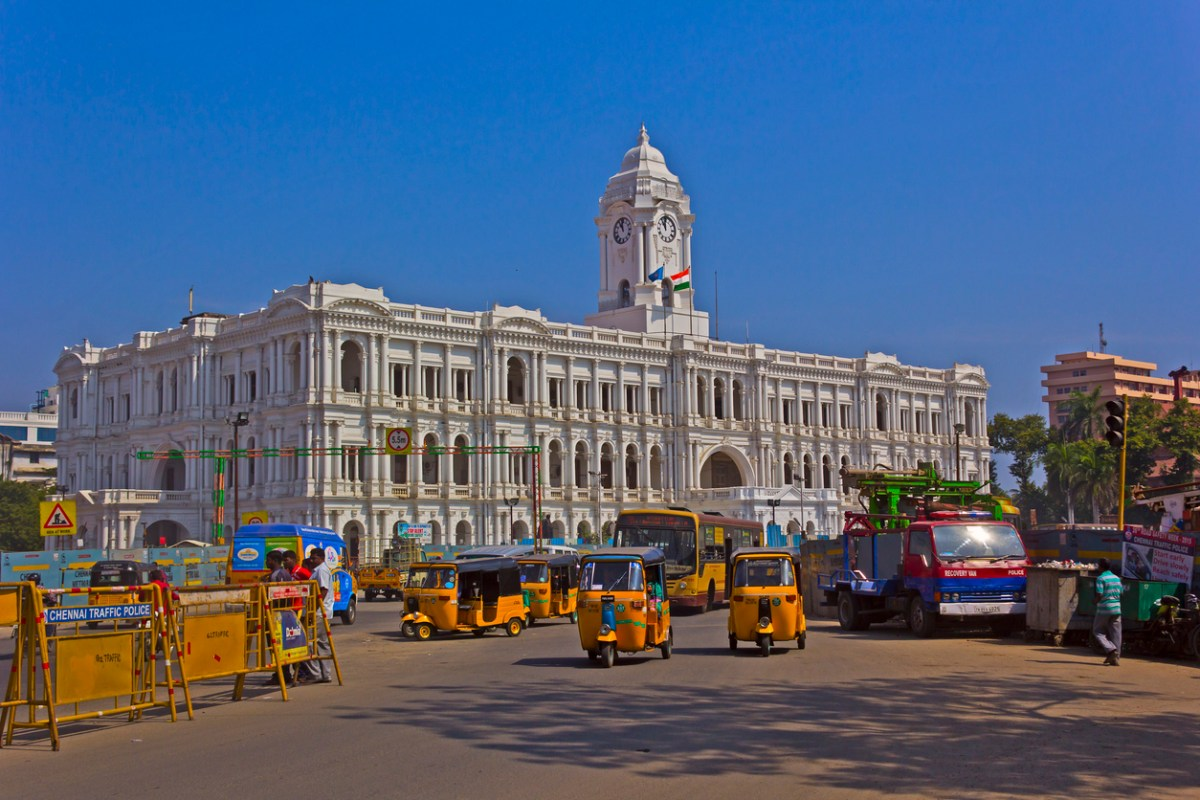 The headquarters of the Tamil Nadu state government in Chennai, which has been criticized over its growing pollution problem. Photo: iStock
