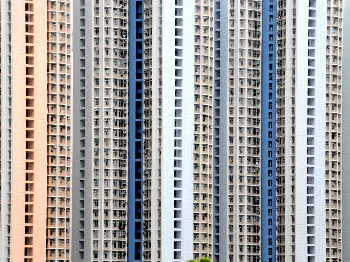 High-rise housing in Hong Kong. Photo: iStock / Getty
