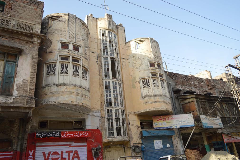 A Jewish building in Rawalpindi. Photo: Asia Times