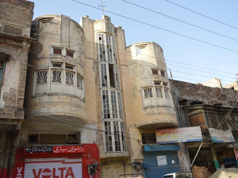 A Jewish building in Rawalpindi. Photo: Asia Times