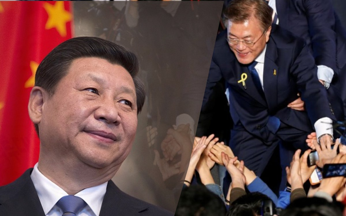 Has China's Xi Jinping been bullying South Korea's President Moon Jae-in?