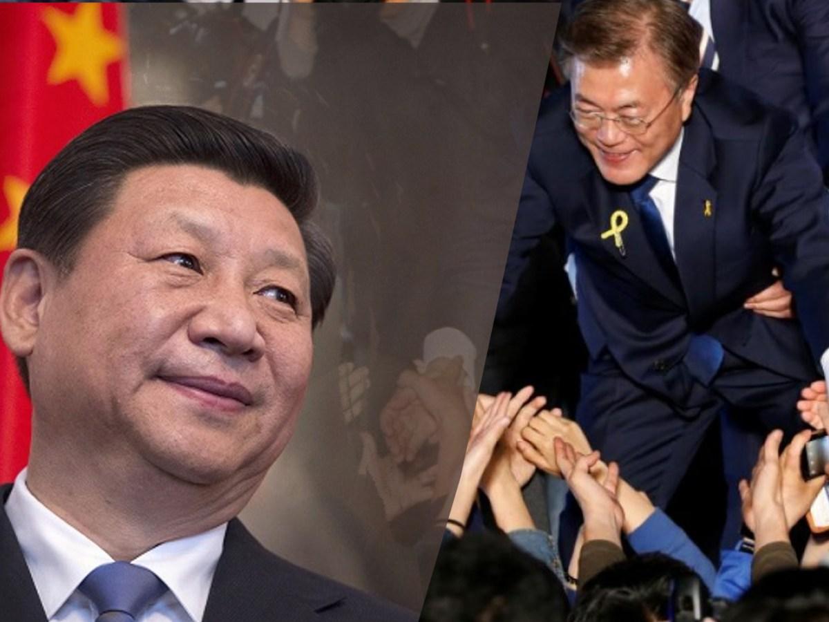 Has China's Xi Jinping been bullying South Korea's President Moon Jae-in?