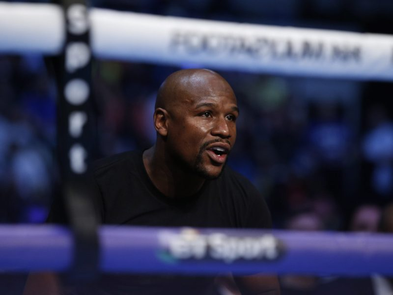Floyd Mayweather Jr in London. Photo: Action Images via Reuters/Andrew Couldridge