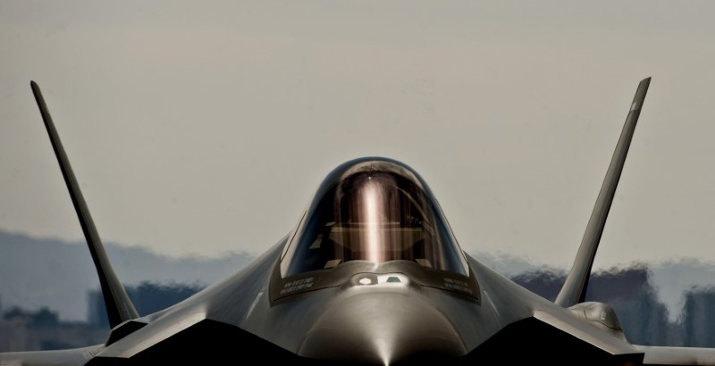 F-35A Lightning II aircraft. Photo: US Air Force handout via Reuters