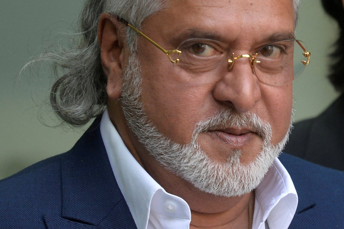 Vijay Mallya leaves after an extradition hearing at Westminster Magistrates Court, in central London, on June 13, 2017. Photo: Reuters / Hannah McKay