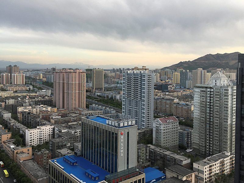 A general view of Urumqi, Xinjiang Province. Photo: Reuters/Sue-Lin Wong