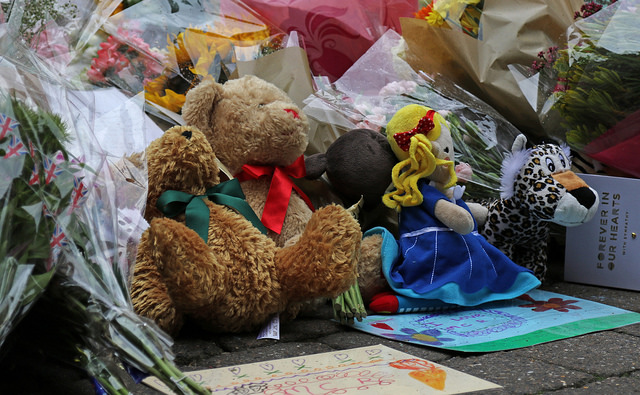 A tribute to victims of the Manchester bombing. Photo: istock