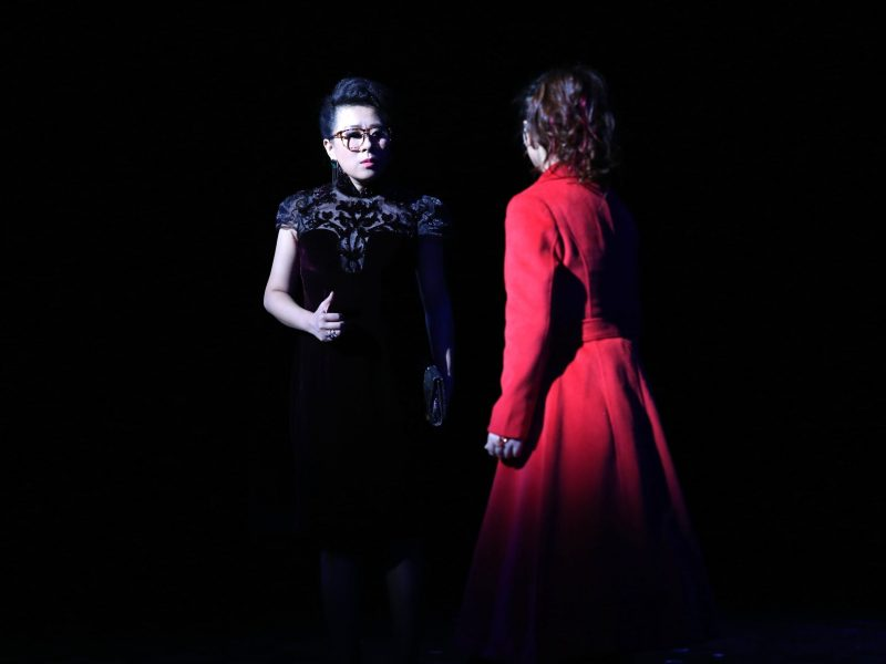 A scene from Li Dun's musical Mama, Love Me Once Again. Photo: Li Dun