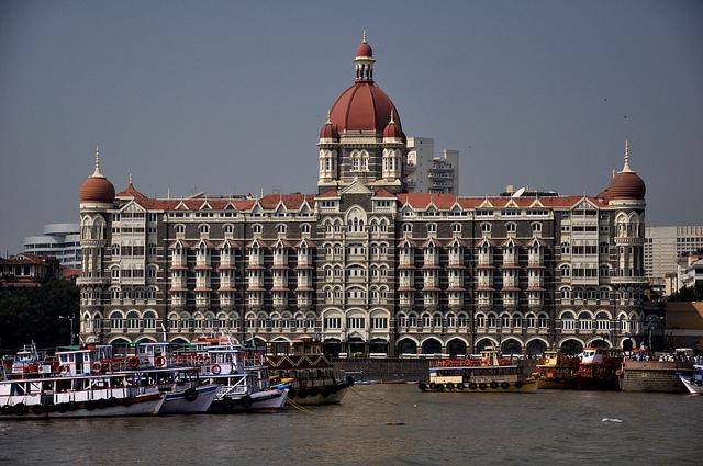 The Taj Mahal Palace hotel. Photo: Flickr Commons