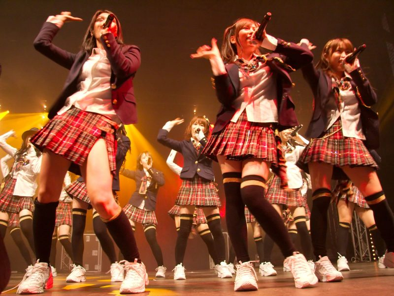 AKB48 when they aren't selling Japanese government bonds. Wikimedia Commons.