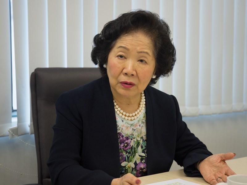 Anson Chan Photo: Asia Times