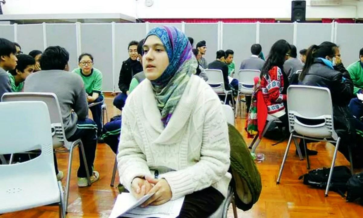 Bibi Tayyaba, a Hong Kong-born Pakistani student Photo: The Education University of Hong Kong