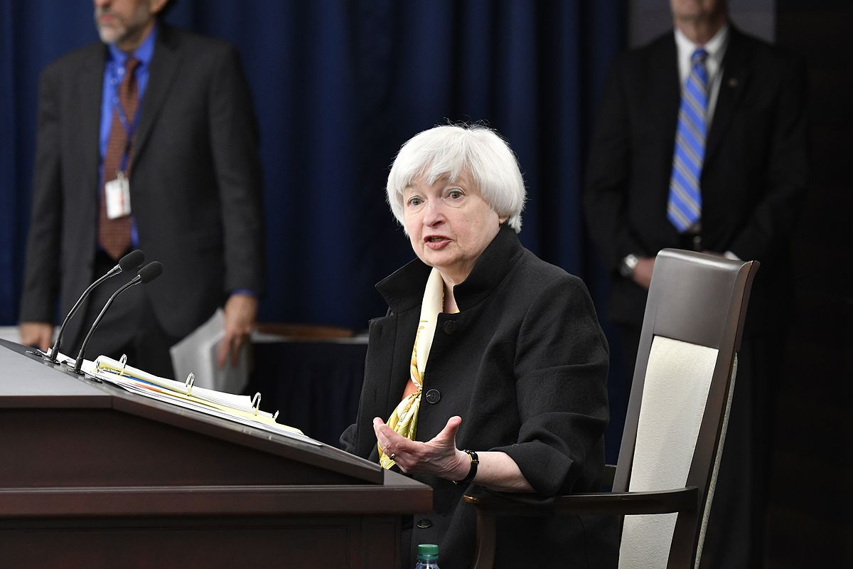 Federal Reserve Chair Janet Yellen. Photo: public domain