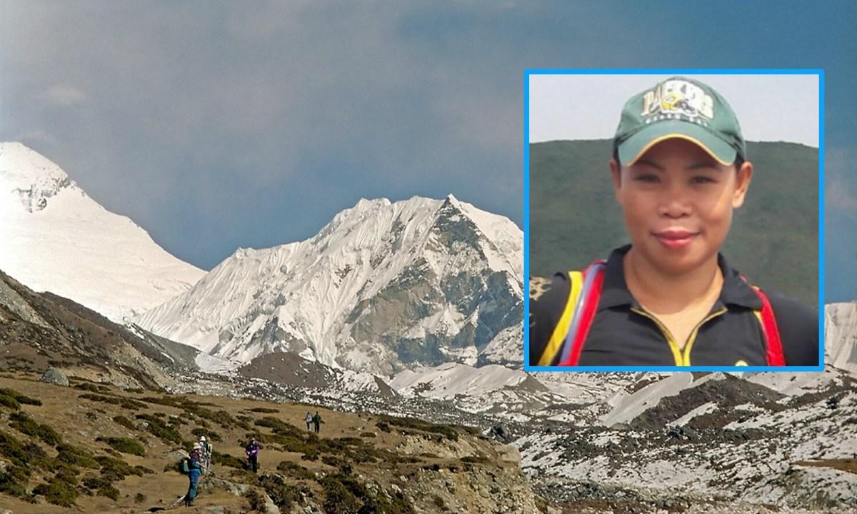 Imja Tse/Island Peak, Khumbu Himal, Nepal Photo: Wikimedia Commons