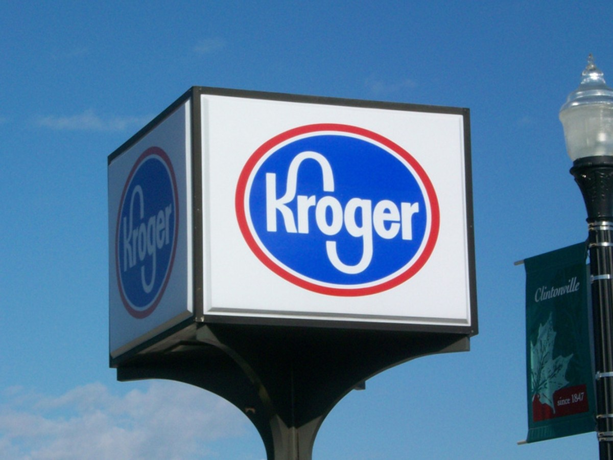 Sign for Kroger grocery store. Photo: Wikipedia Commons