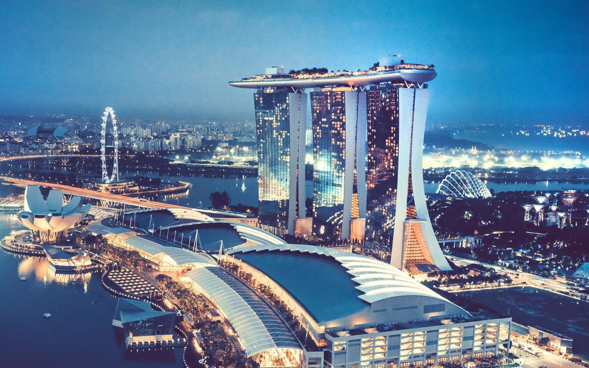 Singapore's Marina Bay Sands Hotel: Singaporean passport holders must pay a S$100 cover charge to gamble in the casinos. Photo: iStock