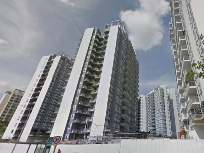 A domestic worker accidentally killed herself with a jumping rope in an apartment in Parc Centros in Punggol Central. Photo: Google Maps