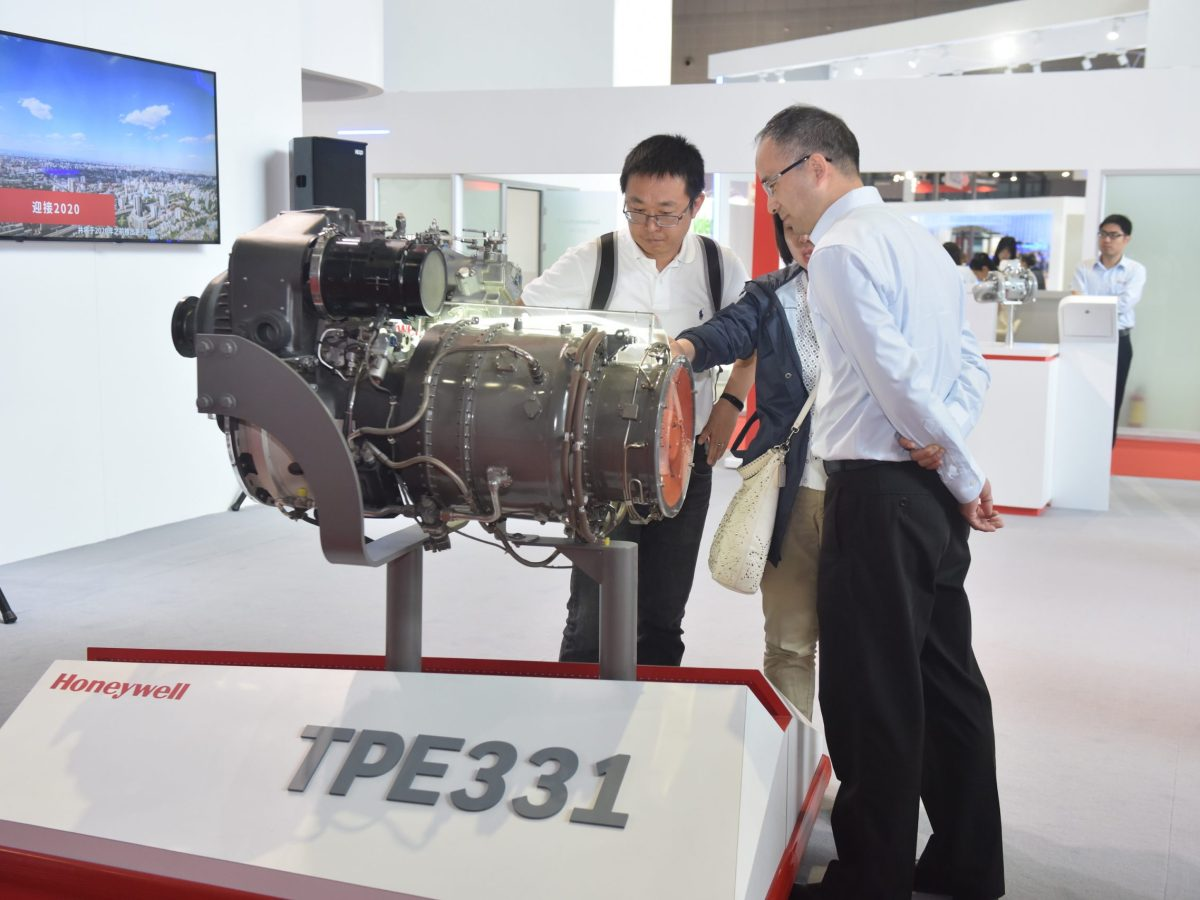 Honeywell Transportation Systems technology on display at the Shanghai  Auto Show. Photo: Honeywell International
